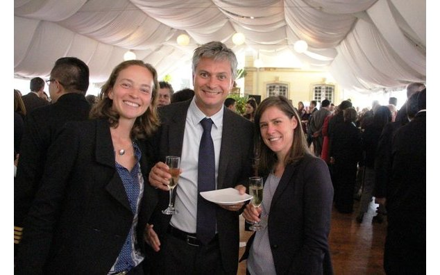 Albane Scrive, Andrea Barcia et Virginie Pinot